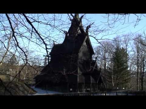 Diario dalla Norvegia, World Trips alla scoperta della Fantoft Stavkirke - Norway Stave church