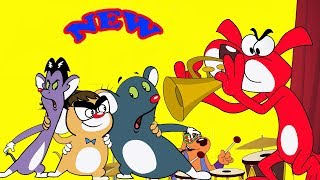 Rat-A-Tat |'Music Overload Low Network Food Fiasco New Episodes'| Chotoonz Kids Funny Cartoon Videos
