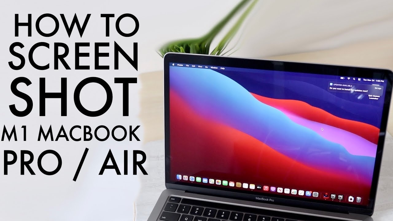 How To Screenshot On ANY M1 MacBook Pro / Air! - YouTube