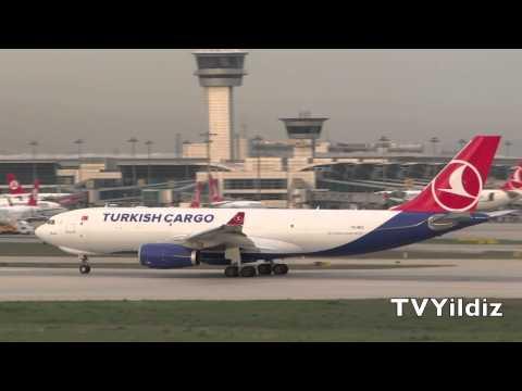 Turkish Airlines Fleet at Istanbul Atatürk Airport 2013
