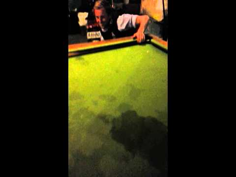Not the fucken pool table