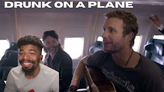 Dierks Bentley - Drunk On A Plane (Country Reaction!)