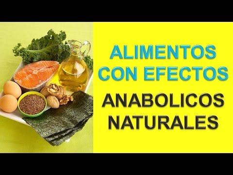 Alimentos Anabolicos Naturales - Alimentos Para Los