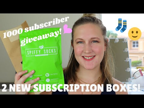 1000 SUBSCRIBERS 😻 | Spiffy Socks And Spiffster Ties Unboxing