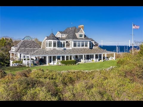 Historic $3.5 Million 5,500 SQ FT 6 Bed 5 Bath Home in Jamestown, Rhode Island USA