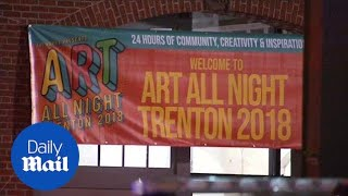 One dead and multiple injured in NJ art festival shooting - Daily Mail