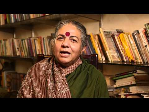 Dr. Vandana Shiva - Indian environmental activist