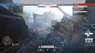 Battlefield 1 - Watching A Hacker In Spectator Mode