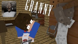 Monster School : GRANNY CHALLENGE - Minecraft Animation
