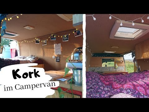 Folge 9 - Wandverkleidung mit Kork und Pappelsperrholz | Kastenwagen Wohnmobil Selbstausbau