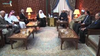 بالفيديو.. الطيب لـ«أمين رابطة العالم الإسلامي»: أعداء الأمة يبيعون لنا الموت