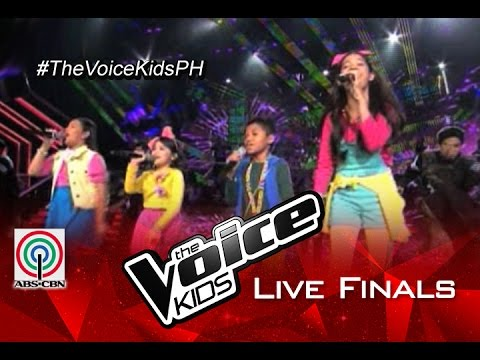"""The Voice Kids PH 2015 Live Finals Performance: """"Forever Young""""/""""Verge""""  by TVK Top 4 of Season 1&2"""