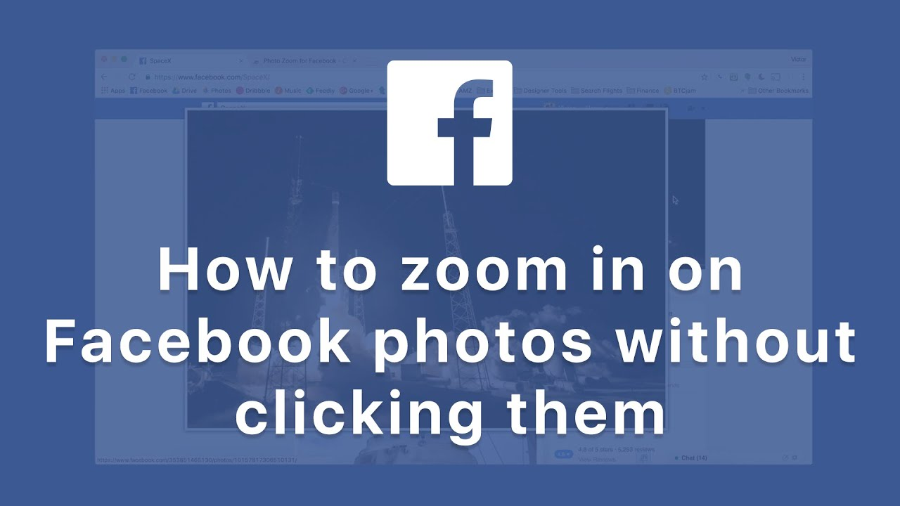 614ab28be How to zoom in on Facebook photos without clicking them - Tutorial ...