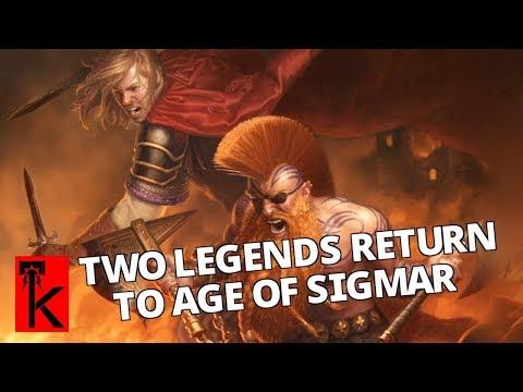 GOTREK AND FELIX RETURN! Realmslayer Novel: Warhammer Age of Sigmar