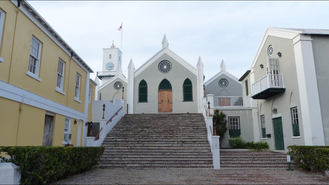 ST. PETER'S CHURCH - ST. GEORGE'S - BERMUDA