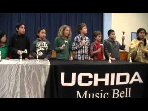 "UCHIDA Handbell - Outreach Program - ""Jingle Bells"" - Richland Avenue Elementary School"