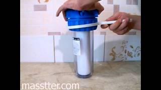 Сборка фильтра механической очистки воды(Показана сборка фильтра холодной воды. ----------------------------------- Монтаж отопления, теплого пола, водопровода..., 2011-09-08T14:35:12.000Z)