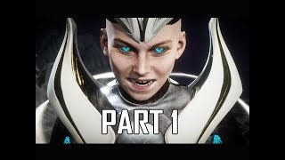 MORTAL KOMBAT 11 Walkthrough Part 1 - KRONIKA INTRO (MK11 Story Let's Play Commentary)
