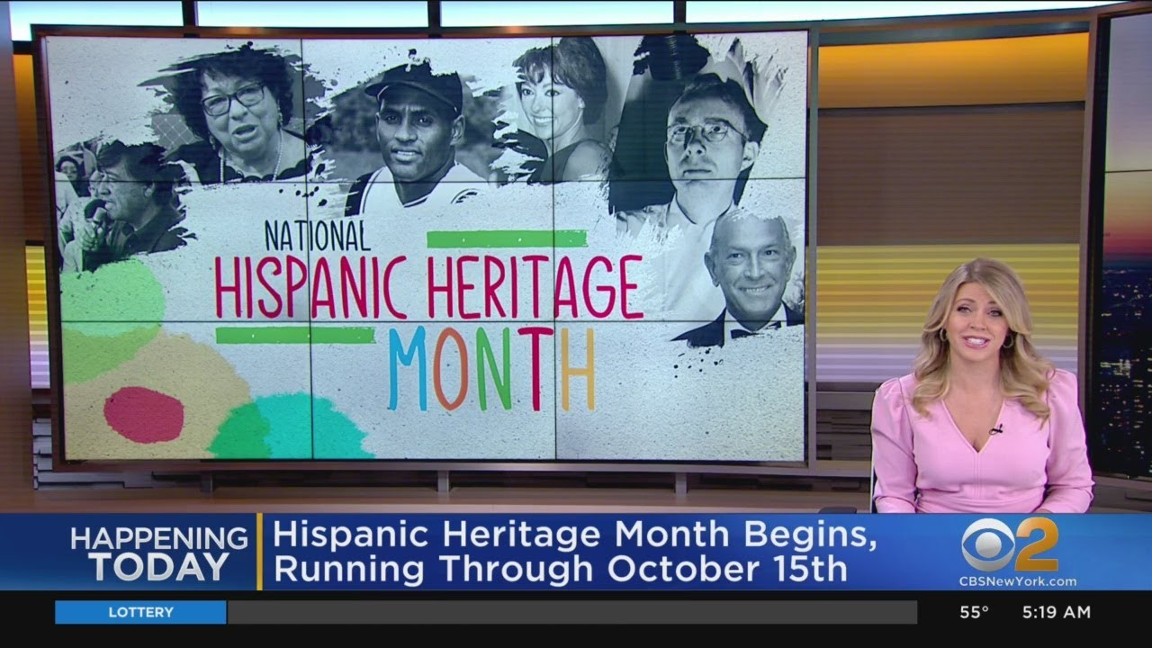 National Hispanic Heritage Month begins Tuesday