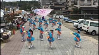 能登よさこい祭り2016 2日目海岸通り演舞場にて.