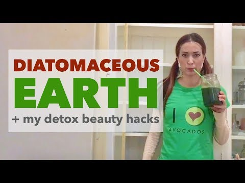 Diatomaceous Earth Benefits + My Health Supplement Combo for Detox, Hair, Skin, Nails