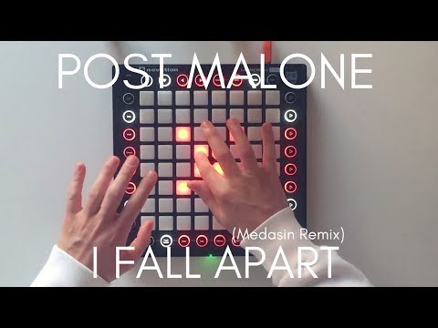 Post Malone - I Fall Apart Medasin Remix  Launchpad Pro Cover