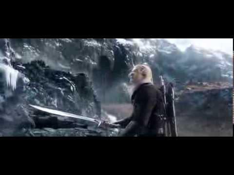 The Hobbit - Legolas VS Bolg part 1 - YouTube
