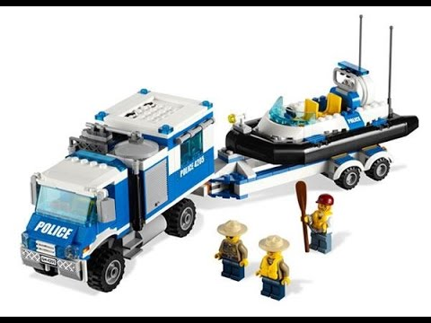 lego city voitures et camions de police jouets pour les enfants youtube. Black Bedroom Furniture Sets. Home Design Ideas