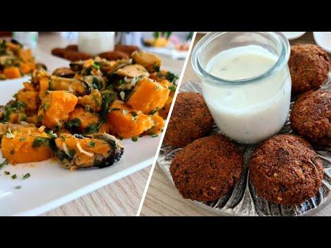 salade-n°1-:-salade-patates-douces-&-moules--sweet-potato-&-mussel-salad--سلطة-بطاطا-حلوة-وبلح-البحر