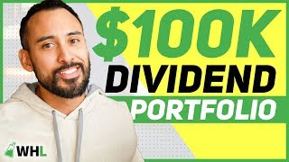 My $100,000 Dividend Portfolio From Scratch (my first 3 stock picks)