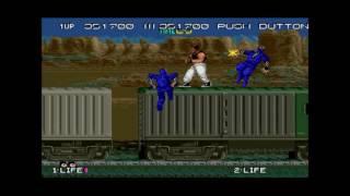 Bad Dudes vs. Dragonninja (US) - bad dudes arcade playthrough 60 fps - User video