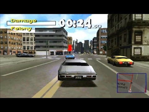 Driver 2 Game Review PS1 2000 HD Gameplay