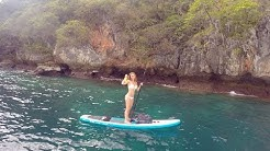 SUP journey to Phi-Phi-Le island, Thailand