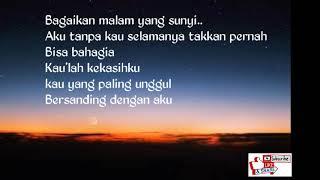 Balasan lagu bagikan langit dan bumi-(lirik caption)