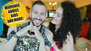 RELATIONSHIP ADVICE : Q&A WITH MY HUBBY 😍| THE GLAM BELLE