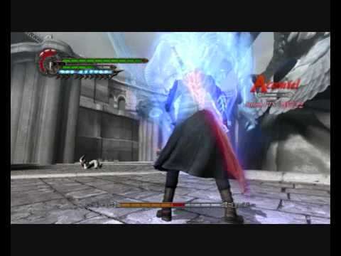 DMC4 Nero Buster Moves on Bosses [W]illz