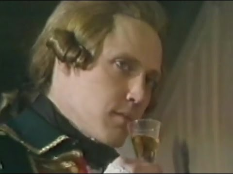 """Christopher Walken as Hessian Major in """"Valley Forge"""", 1975"""