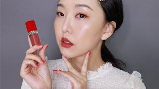 [AD] 最保濕且輕盈的霧面唇彩! Dior超惹火絲絨唇露17色全試色