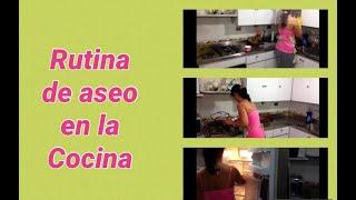rutina-de-aseo-semanal-la-cocina-weekly-cleaning-routine-