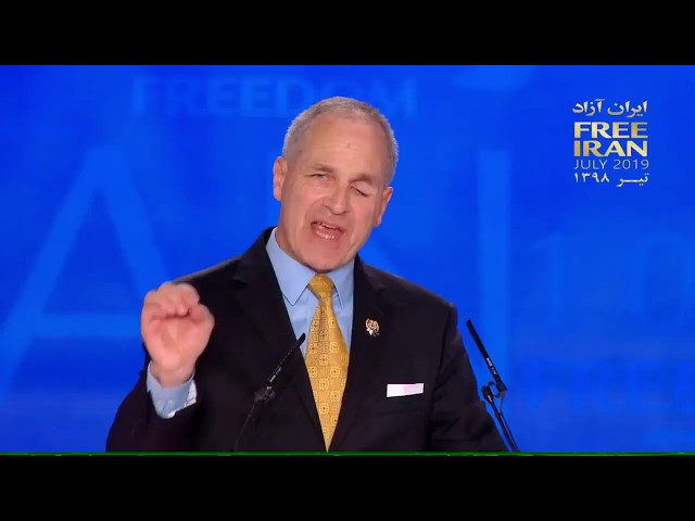 MEK Free Iran rally in Albania - Louis Freeh speech in annual rally of Iranian opposition