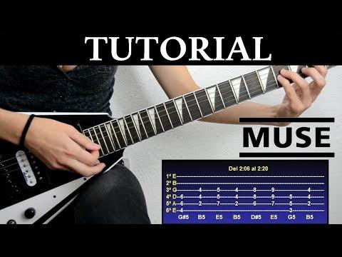 Cómo Tocar Knights Of Cydonia De Muse (Tutorial De Guitarra) / How To Play