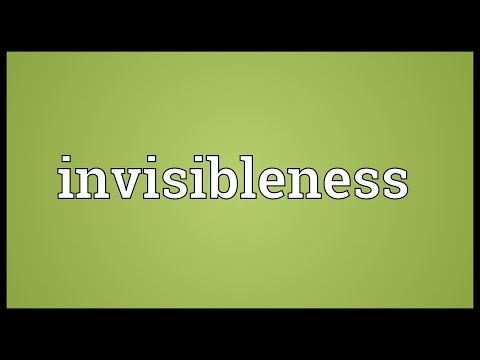 Header of invisibleness