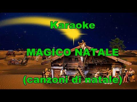 Karaoke -  MAGICO NATALE- con testo (canzoni di natale) Piccolo coro dell'antoniano