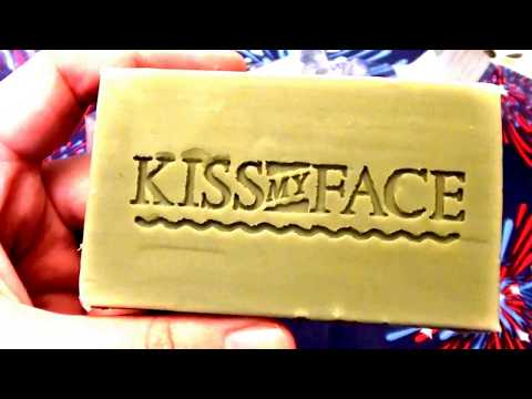 Kiss My Face Pure Olive Oil Soap Fragrance Free — 3 Bars