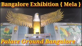 Bangalore exhibition in palace ground