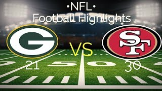 Faits saillants du football DE LA NFL ROBLOX 49ers vs GB Packers - France Les casseurs de cheville !