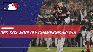 International calls of Boston winning 2018 WS