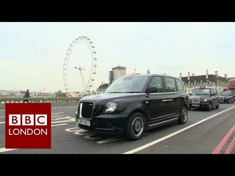 Electric Black Cabs hit London's streets – BBC London News