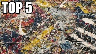 TOP 5 - Nejdražších prodaných obrazů