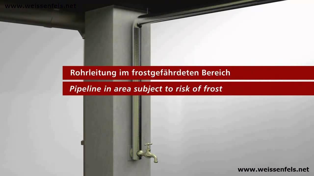 Innovativ Rohrbegleitheizung Heizkabel Frostschutz-Heizkabel Heizband  IS16